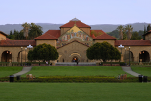 Photo of the Stanford University Quad