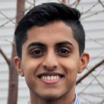 Photo of Stanford student and Stanford Bio-X Undergraduate Summer Research Program Participant Poojit Hegde.