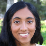 Photo of Stanford student and Stanford Bio-X Undergraduate Summer Research Program Participant Rachana Mudipalli.