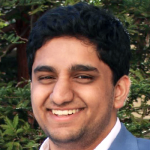 Photo of Stanford student and Stanford Bio-X Undergraduate Summer Research Program Participant Saket Myneni.
