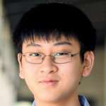 Photo of Stanford student and Stanford Bio-X Undergraduate Summer Research Program Participant William Wang.